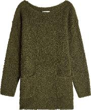 Pullover With Mohair And Wool