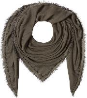 Scarf With Cashmere