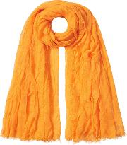 Scarf With Silk