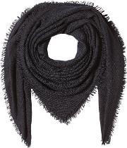 Scarf With Virgin Wool, Cashmere And Silk