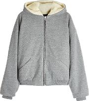 Fear Of God Hoodie With Wool And Alpaca Blend Lining