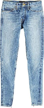 Jeans With Zipped Ankles
