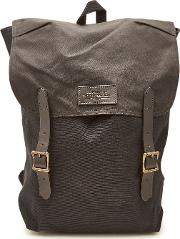 Ranger Cotton Backpack With Leather