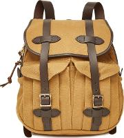 Rucksack With Leather