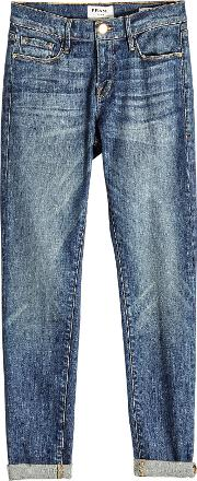 Le Garcon Distressed Skinny Jeans