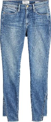 Le High Skinny Gusse Jeans