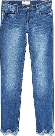 Le Skinny Jagger Cropped Jeans