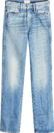 Rigid Re Release Le High Straight Jeans