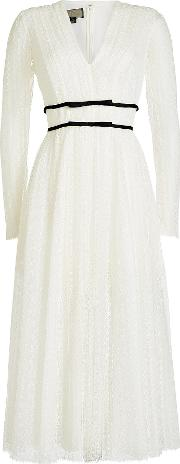 Tulle Lace Dress With Cotton