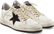 Ball Star Sneakers With Leather