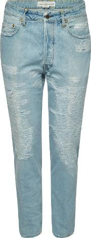 Happy Distressed Jeans