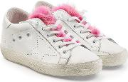 Super Star Leather Sneakers With Fur