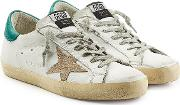 Super Star Leather Sneakers With Suede