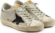 Super Star Sneakers With Leather