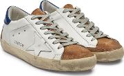 Super Star Suede And Leather Sneakers