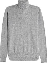 Turtleneck Pullover With Wool And Alpaca
