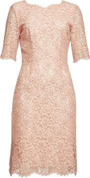 Kalissy Lace Dress With Cotton
