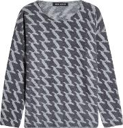 Vail Printed Cashmere Pullover