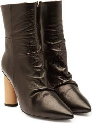 Nazca Leather Ankle Boots