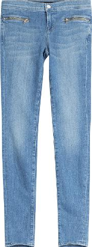 Emma Skinny Jeans With Zippers