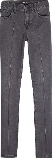 Mid Rise Pin Skinny Jeans