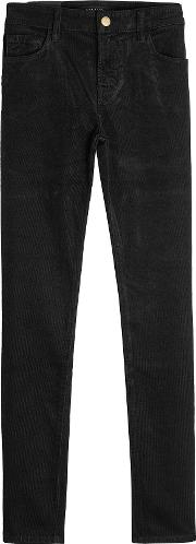 Velvet Corduroy Pants With Cotton