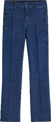 Zion Crop Boot Mid Rise Jeans