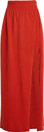 Peron Wool Skirt With Cashmere