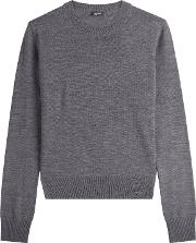Layered Wool Pullover