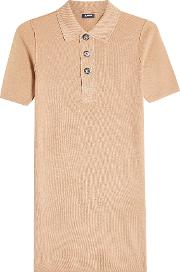 Wool Polo Top