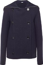 Virgin Wool Jacket With Cashmere