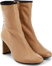Plotino Leather Ankle Boots