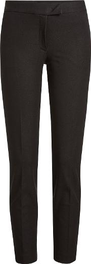Tailored Pants With Cotton
