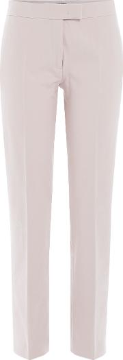 Tapered Pants With Cotton