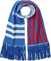 Cotton Scarf With Fringe