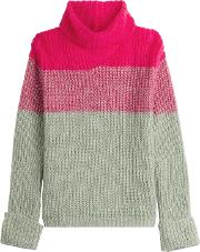 Turtleneck Pullover With Wool And Mohair