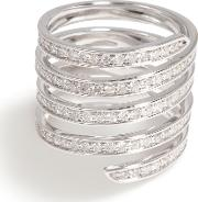 Pave Coil Ring