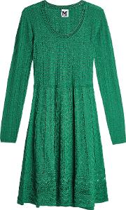 Knit Dress With Virgin Wool