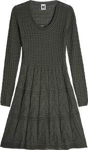 Knit Dress With Wool