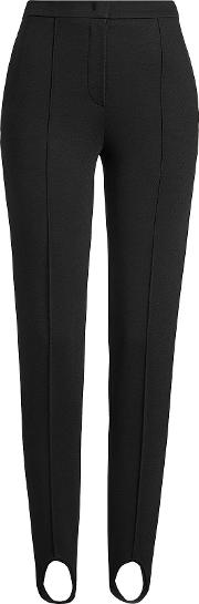 Tailored Pants With Stirrup Detail