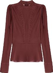 Blouse With Cut Out Detail