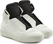 New Future High Top Leather Sneakers