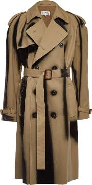 Trench Coat With Wool
