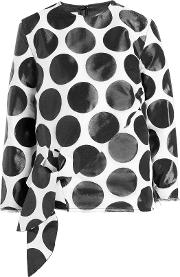 Marques' Almeida Printed Top With Wool