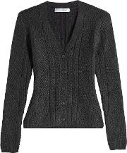 Cardigan With Wool And Camel