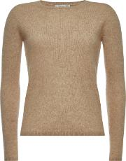 Pullover In Cashmere And Silk