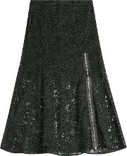 Lace Skirt With Zipper