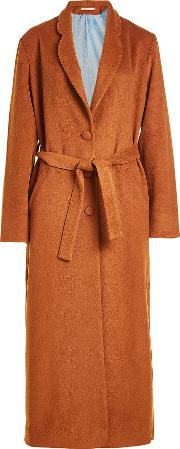 Maxi Coat With Wool