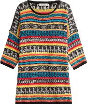 Oversize Pullover With Mohair