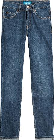 Cropped Slim Jeans